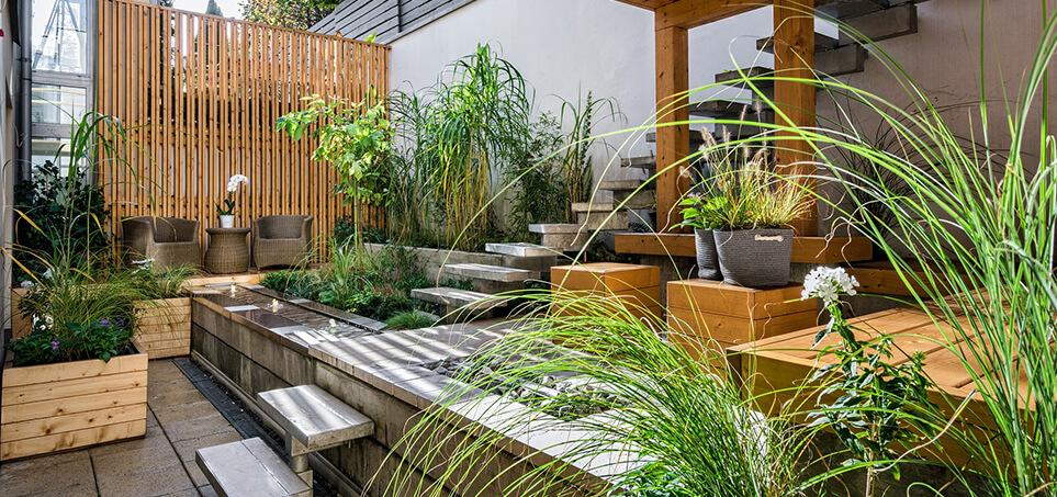 Style ogrodów - ogród nowoczesny