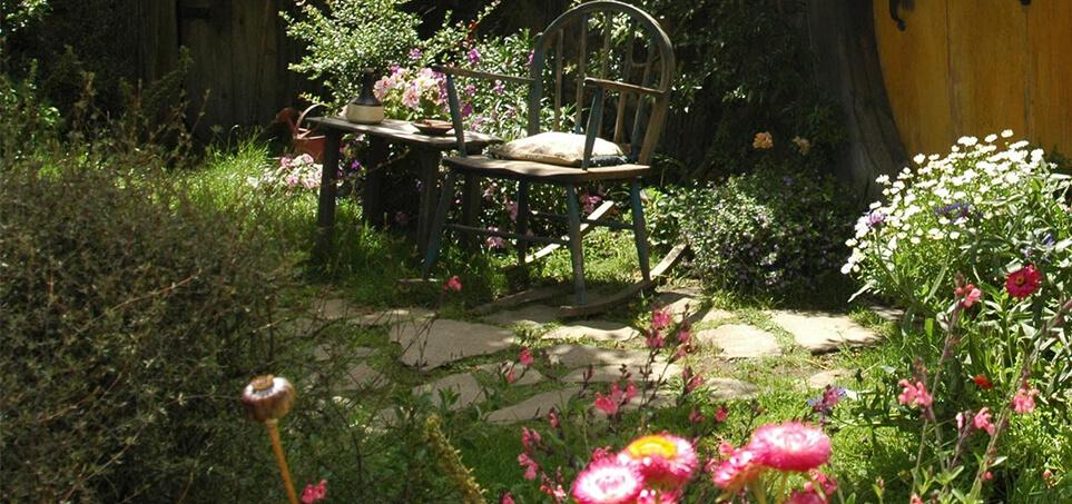 Style ogrodów - ogród wiejski